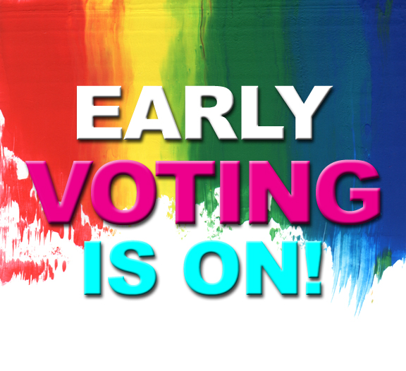 Vote - Early Voting Art