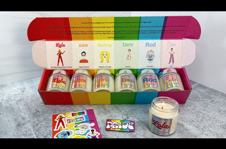 Stagedoor Candle Co. Pride Candel Image